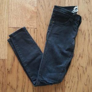 Current Elliot Black Skinny Jeans